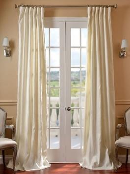 Designer Silk Embroidered Curtains
