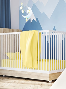 Cotton Jersey Crib Sheets