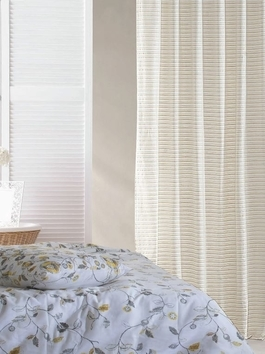 Hand Woven Cotton Stripe Curtains