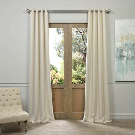Grommet Eggnog Blackout Curtain