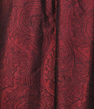 Merlot Jamawar Embroidered Silk Swatch
