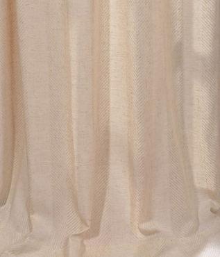 Lanai Natural Linen Blend Stripe Swatch