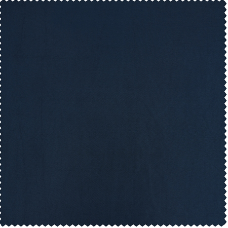 Navy Blue Faux Silk Taffeta Swatch