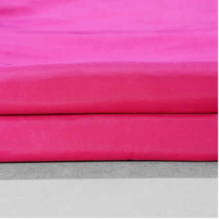Fuchsia Rose Faux Silk Taffeta Swatch