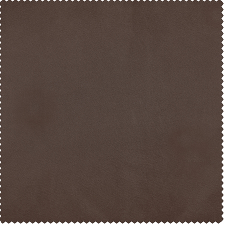 Copper Brown Faux Silk Taffeta Swatch