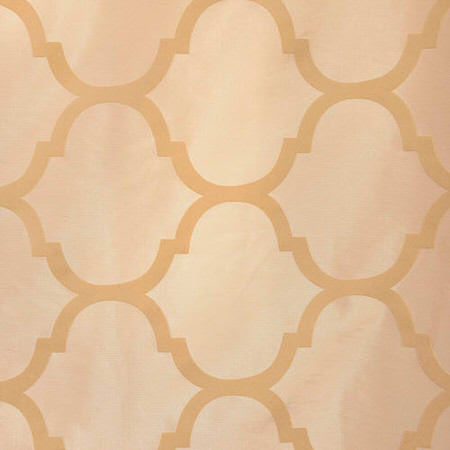 Marakesh Bone Flocked Faux Silk Taffeta Swatch