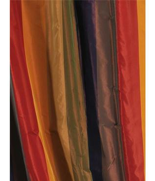 Kaleidoscope Faux Silk Taffeta Stripe Swatch