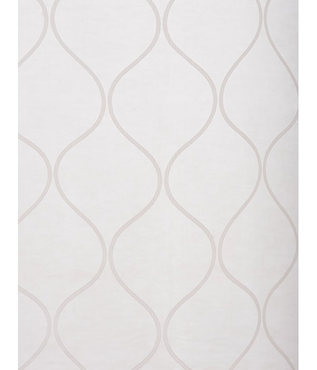 Palazzo White Banded Sheer Swatch