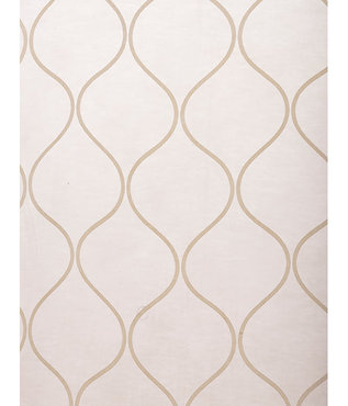 Palazzo Gold Banded Sheer Swatch