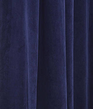 Signature Federal Blue Blackout Velvet Swatch