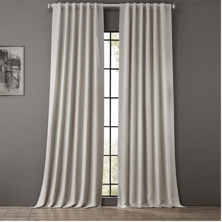 Smokey Cream Blackout Curtain