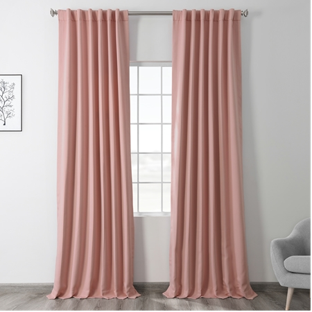 Taffy Pink Blackout Curtain