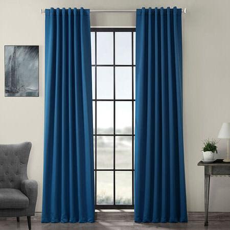 Hacienda Blue Blackout Curtain