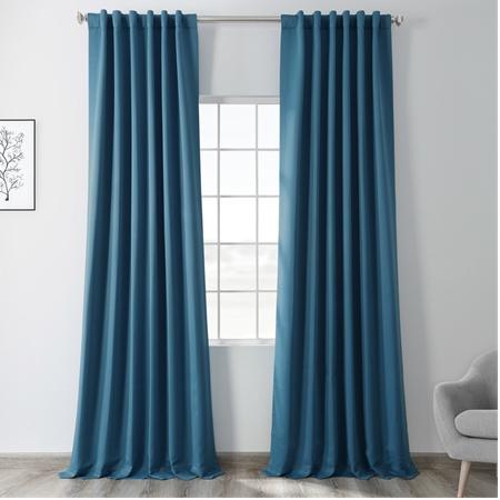 Tsunami Blue Blackout Curtain