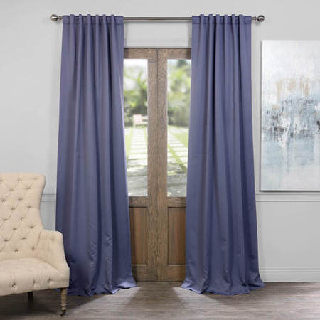 Durango Blue Blackout Curtain