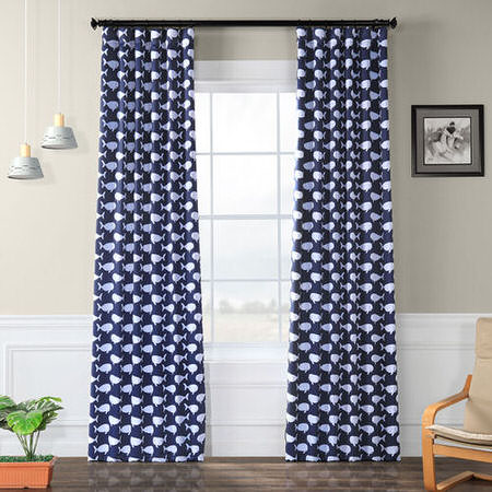 Migaloo Navy Blackout Curtain