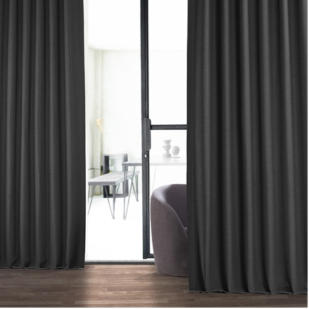 Smoked Truffle Bellino Blackout Curtain