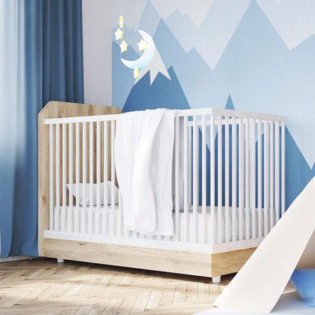 Cotton Jersey White Crib Sheets