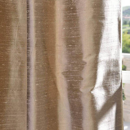 Cashmere Textured Dupioni Silk Fabric