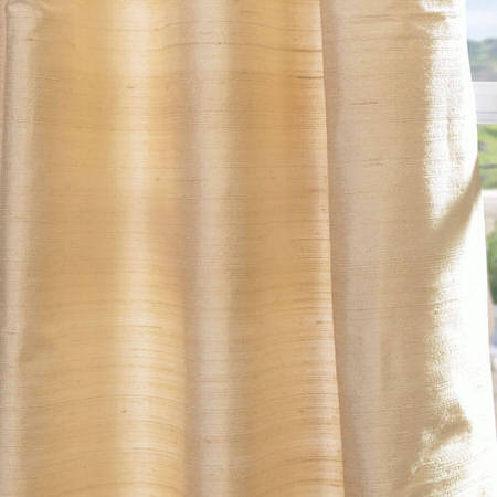 Maplewood Textured Dupioni Silk Fabric