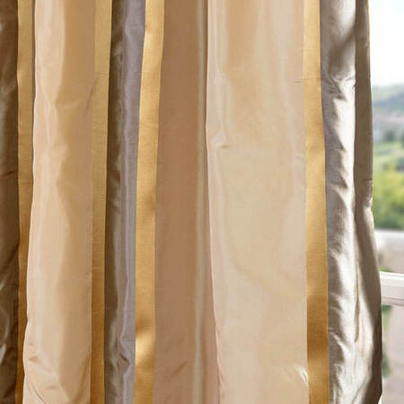 Wilmington Taffeta Silk Stripe Fabric