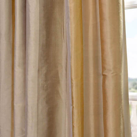 Palm Springs Silk Stripe Fabric