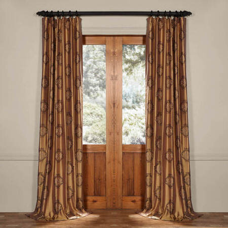Taj Mahal Silk Curtain