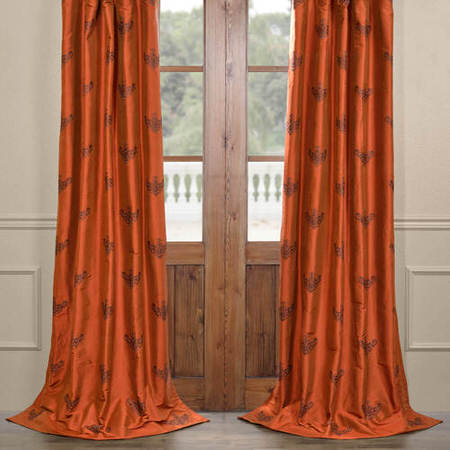 Fairmont Silk Curtain