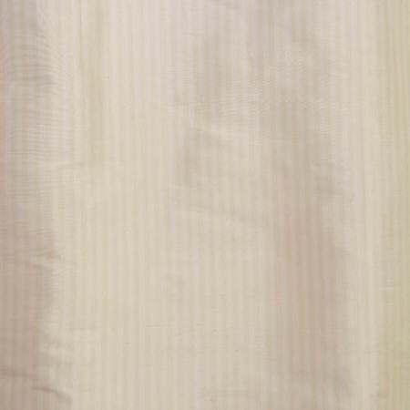 Cambridge White Silk Stripe Fabric