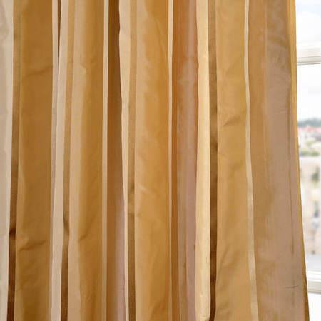Beverly Hills Silk Taffeta Stripe Fabric