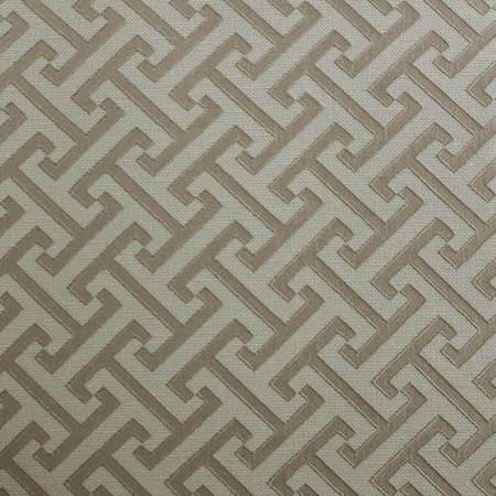Zeus Stone Faux Silk Jacquard Fabric