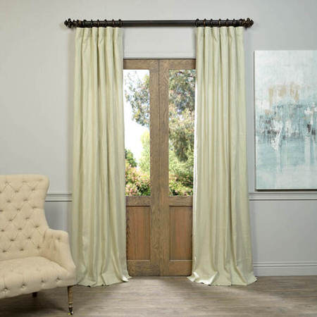 Khaki French Linen Curtain