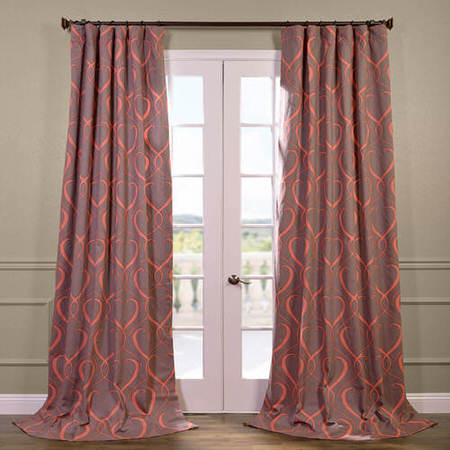Panama Printed Cotton Curtain
