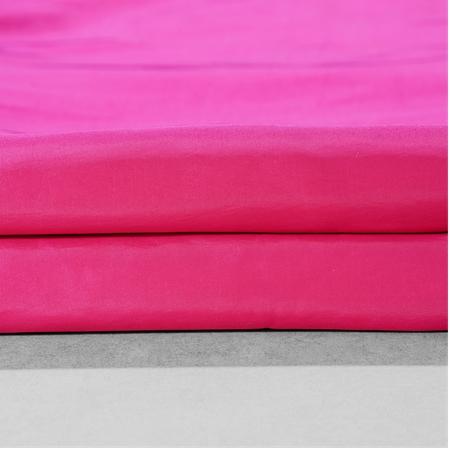 Fuchsia RoseFaux Silk Taffeta Fabric