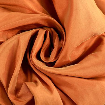 Harvest OrangeÊFaux Silk Taffeta Fabric