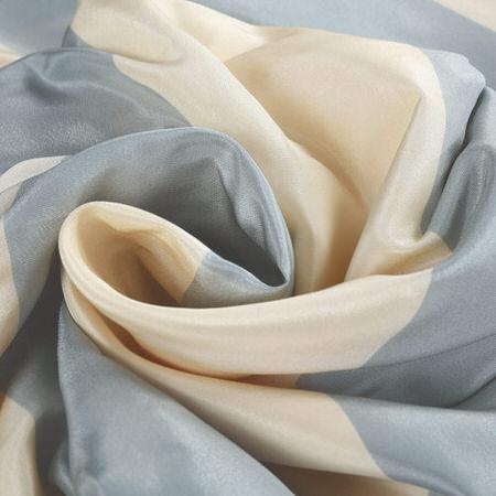 Hampton Faux Silk Taffeta Stripe Fabric