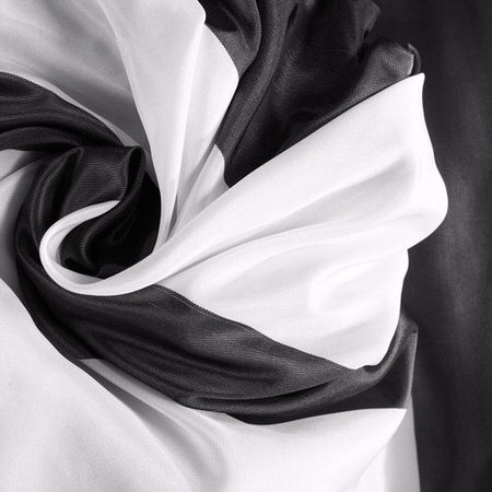 Presidio Faux Silk Taffeta Stripe Fabric