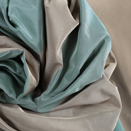 Marin Faux Silk Taffeta Stripe Fabric