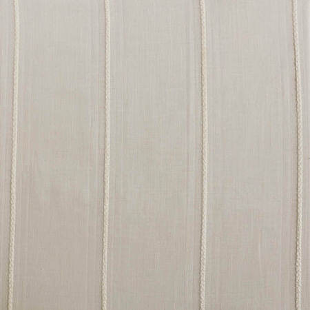 Aruba White Striped Linen Sheer Fabric