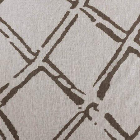 Normandy Grey Printed Sheer Fabric
