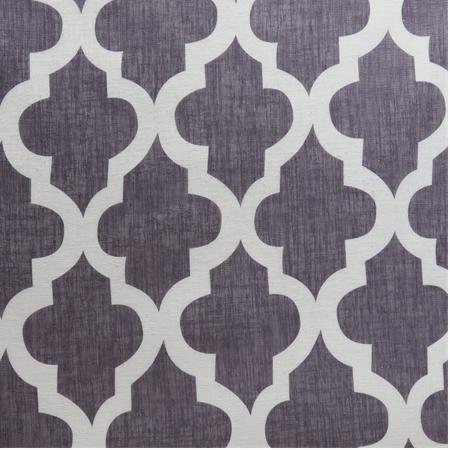 Birmingham Blue Printed Sheer Fabric