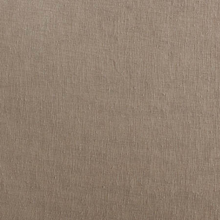 Nude Mauve Solid Faux Linen Sheer Fabric