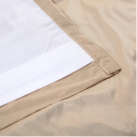 Pearl White Thai Silk Fabric