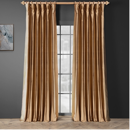 brown window treatments thai silk curtains thai silk drapes half price drapes
