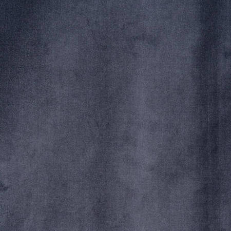 Blue Grey Vintage Cotton Velvet Fabric