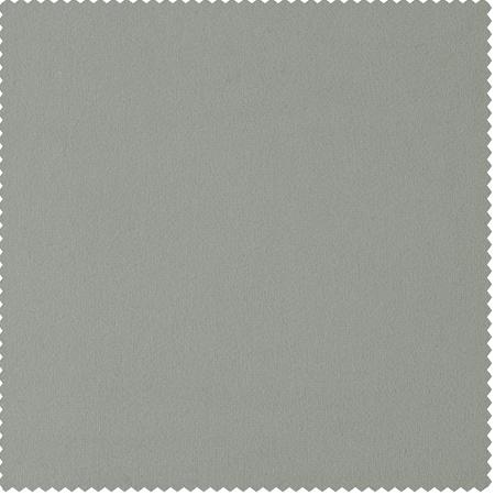 Signature Reflection Grey Velvet Fabric