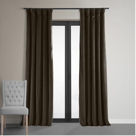 Signature Java Blackout Velvet Curtain