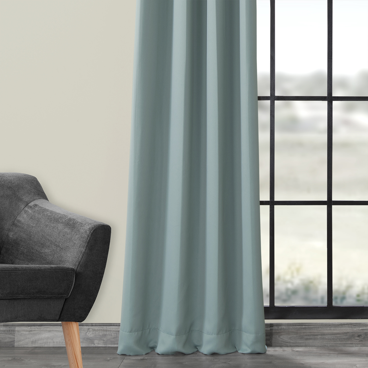 Juniper Berry Grommet Blackout Curtain