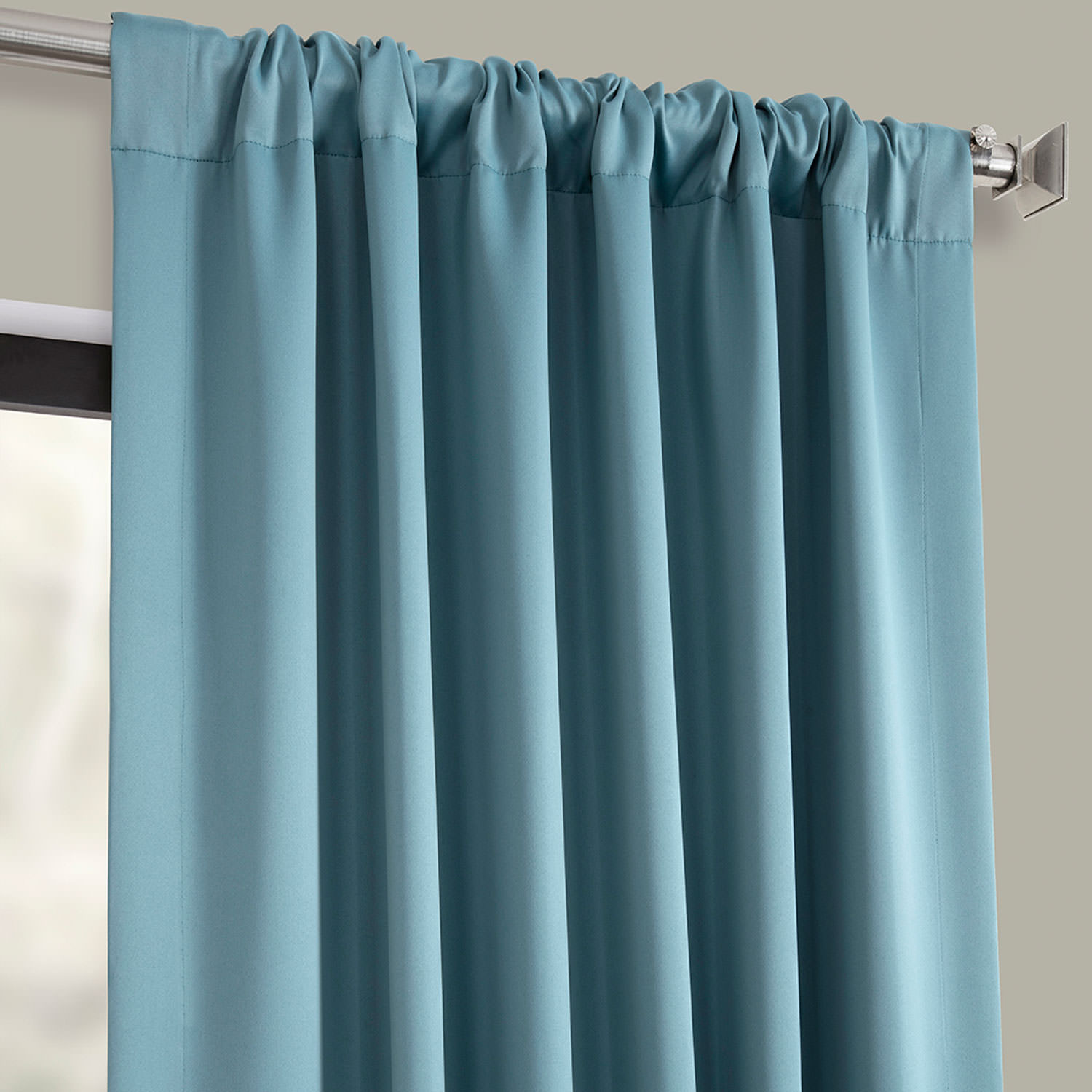 Get Dragonfly Teal Blackout Curtain And Drapes
