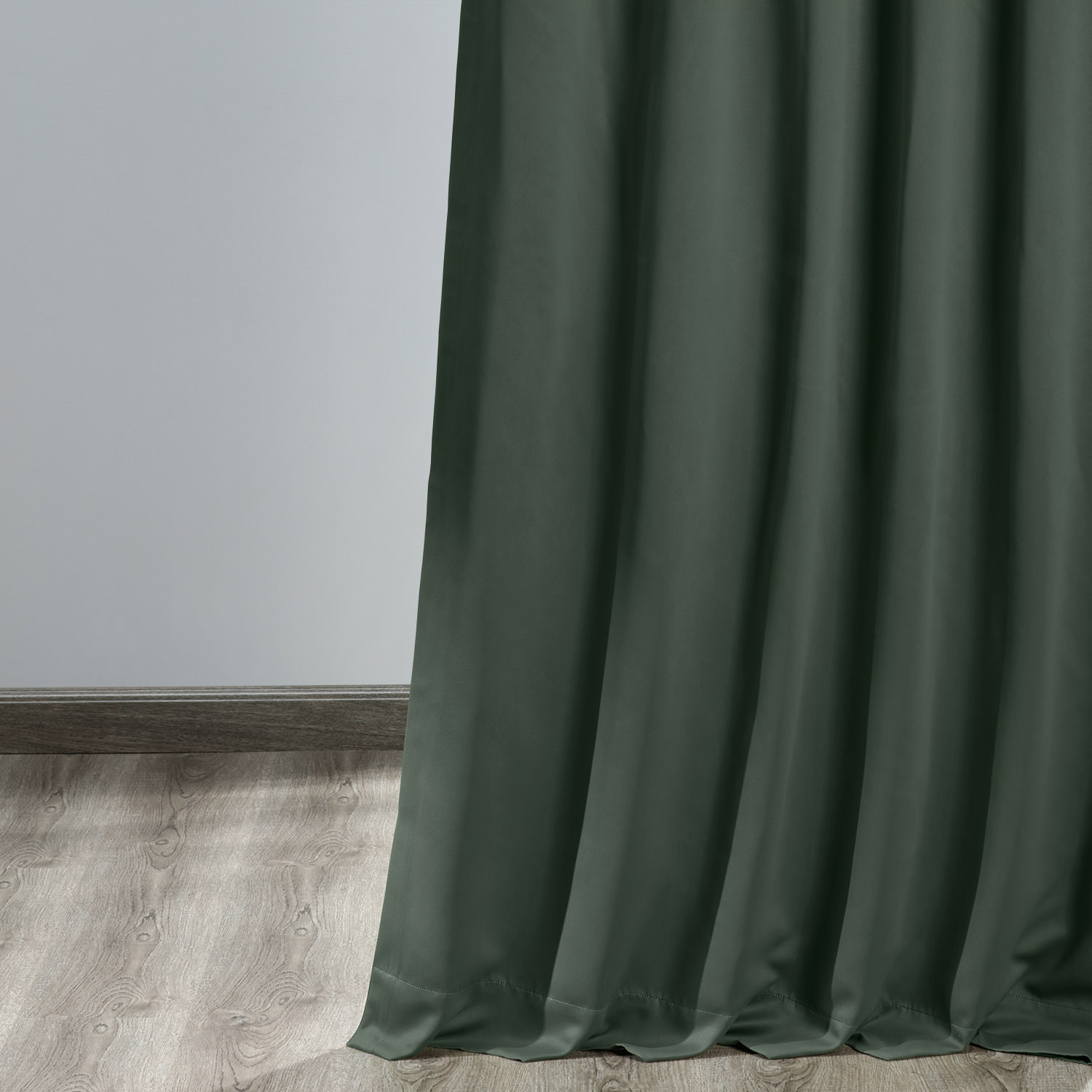 Dark Mallard Green Blackout Curtain